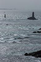 France, Bretagne, (29), Finistère, Cap Sizun, Plogoff: Le Raz de Sein à la pointe du Raz //  France, Brittany, Car Sizun, Plogoff: