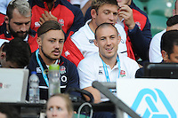Mike Brown of England at Twickenham for the first time since suffering concussion in the 6 Nations - 15/08/2015 - Twickenham Stadium - London <br /> Mandatory Credit: Rob Munro/Stewart Communications