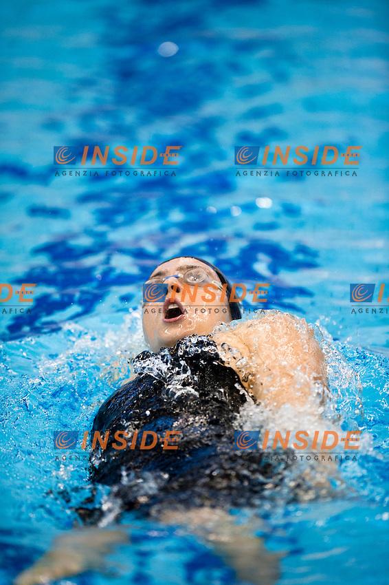 Szeszecin Stettino POL  - 8-11 Dec 2011.European Swimming  Short Course Championships.Swimming Nuoto heats batterie ..POLIERI Alessia ITA.400 I Medley W.Photo Insidefoto / Giorgio Scala..