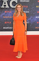 Carol Vorderman at the &quot;Maniac&quot; UK TV premiere, BFI Southbank, Belvedere Road, London, England, UK, on Thursday 13 September 2018.<br /> CAP/CAN<br /> &copy;CAN/Capital Pictures