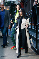 NEW YORK, NY - FEBRUARY 8: Kendall Jenner and Kourtney Kardashian  seen on February 8, 2019 in New York City. <br /> CAP/MPI/DC<br /> &copy;DC/MPI/Capital Pictures