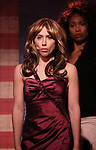 Mia Weinberger as Melania Trump perform onstage during the 'ME THE PEOPLE: The Trump America Musical' Press Preview Presentation at The Triad Theater on June 21, 2017 in New York City.