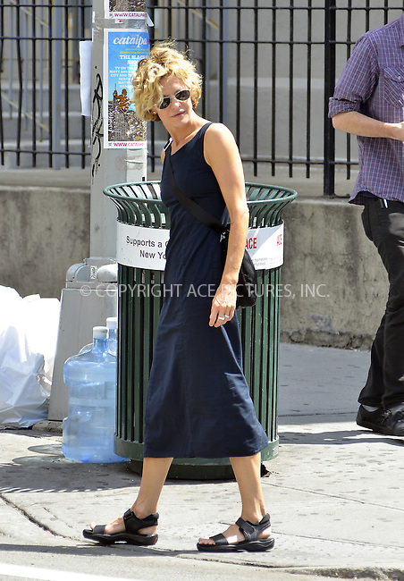 WWW.ACEPIXS.COM . . . . .  ....July 10 2012, New York City....Actress Meg Ryan strolls in Tribeca on July 10 2012 in New York City....Please byline: CURTIS MEANS - ACE PICTURES.... *** ***..Ace Pictures, Inc:  ..Philip Vaughan (212) 243-8787 or (646) 769 0430..e-mail: info@acepixs.com..web: http://www.acepixs.com