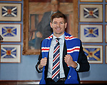 04.05.2018 Steven Gerrard new Rangers FC manager