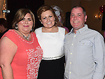 Emma Bird celebrating her 21st birthday in the Westcourt hotel with godparents Barry Leonard and Patricia Martin. Photo:Colin Bell/pressphotos.ie