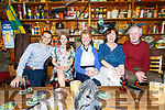 Enjoying the Blues in Mike Murts Bar Cahersiveen on Sunday night with the Dizzy Blues Band were l-r; Shane O'Neill, Angela Fitzgerald, Mary Garvey, Noreen King & Paddy Garvey.