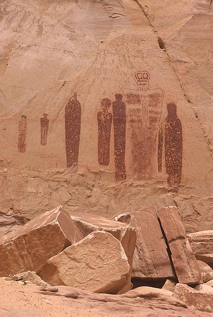 Petroglyphs, Horse Shoe Canyon, Canyonlands National Park, Utah