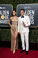 Irina Shayk and Golden Globe nominee Bradley Cooper attend the 76th Annual Golden Globe Awards at the Beverly Hilton in Beverly Hills, CA on Sunday, January 6, 2019.<br /> *Editorial Use Only*<br /> CAP/PLF/HFPA<br /> Image supplied by Capital Pictures