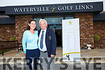 Waterville Golf Links hosts the 10th World Invitational Father & Daughter Golf Tournament pictured here Miriam Courtney(Manager Waterville House & Events Coordinator) & Noel Cronin(Secretary/Manager).
