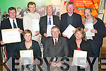 Achievers: Receiving their Certificates in Accounts Payroll along with Pat Breen, who was.receiving his award in System Networks at the 2007 FAS Certification awards ceremony.at the Brandon Conference Centre, Tralee, on Thursday night were, sitting l/r Julianne.Looney, Killarney, Donal Kerr (regional director of FAS SW) and Geraldine Leon, Killarney..Standing l-r: Pat Breen, Gurrane, Edwardos Poutkalis, Killarney, Tim OSullivan,.Castleisland, Patrick OShea, Killarney, and David Sheehan, Killarney.