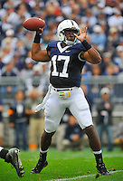 12 September 2009:  Penn State QB Daryll Clark threw for 240 yards and 3 TDs.  The Penn State Nittany Lions defeated the Syracuse Orangemen 28-7 at Beaver Stadium in State College, PA.