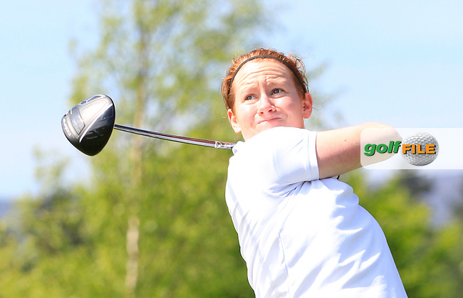 Emma Gilmore (Mountbellew) on the 7th tee during Round 1 of the Irish Women's Open Strokeplay Championship at Dun Laoghaire Golf Club on Saturday 23rd May 2015.<br /> Picture:  TJ Caffrey / www.golffile.ie