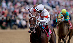 May 4, 2019 : #8 Mitole, ridden by Ricardo Santana, Jr., wins the Churchill Downs on Kentucky Derby Day at Churchill Downs on May 4, 2019 in Louisville, Kentucky. Kaz Ishida/Eclipse Sportswire/CSM