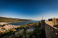 Makedonien. Samuels Fortress i Ohrid. Foto: Jens Panduro