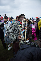 The Scouts from Suriname has drummed and jumped all the way to the Opening Ceremony at 22nd World Scout Jamboree Sweden 2011.