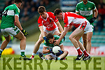 Dara Ó Sé West Kerry in action against Sean McCarthy Legion in the Quarter Final of the Kerry Senior County Championship at Austin Stack Park on Sunday.