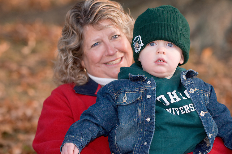 Wylie Anderson w/ grandmother Sharon Hoffee from Marietta