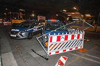 13-10-16 Krawalle Kreuzberg Lampedusa