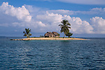 A small island in the San Blas Islands archipelago, Kuna Yala, Panama