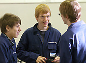 Students, Motor Mechanics, Further Education College.