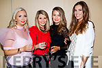 Hilary Donaghy, Sinead Keane, Dawn Lynch and Cliona Fitzmaurice, enjoying the Dunnes Stores and Paul Galvin Shelby Autumn Winter Fashion Show held at the Brandon Hotel, Tralee on Friday night last.