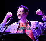 "Chris Dwan during the New York Musical Festival production of  ""Alive! The Zombie Musical"" at the Alice Griffin Jewel Box Theatre on July 29, 2019 in New York City."