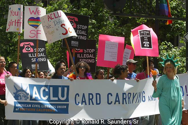 ACLU AT GAY PRIDE PARADE