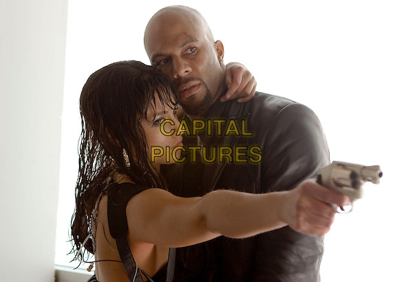 ALICIA KEYS & COMMON.in Smokin' Aces.Common Sense .**Editorial Use Only**.CAP/FB.Supplied by Capital Pictures