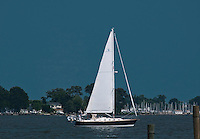 Sailboat on Middle River
