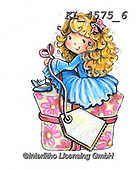 CHILDREN, KINDER, NIÑOS, paintings+++++,KL4575/6,#k#, EVERYDAY ,angel,angels ,sticker,stickers