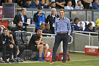 San Jose, CA - Monday July 10, 2017: Chris Leitch during a U.S. Open Cup quarterfinal match between the San Jose Earthquakes and the Los Angeles Galaxy at Avaya Stadium.