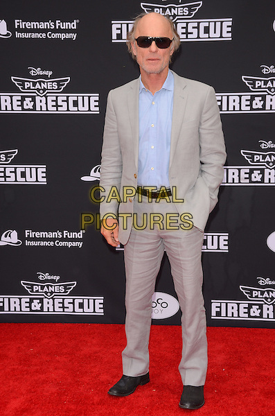 15 July 2014 - Hollywood, California - Ed Harris. Arrivals for the premiere of Disney's &quot;Planes: Fire and Rescue&quot; held at the El Capitan Theater in Hollywood, Ca. <br /> CAP/ADM/BT<br /> &copy;BT/ADM/Capital Pictures