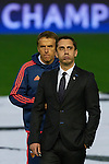 Gary Neville (R) head coach of Valencia CF and his brother Phil Neville assistant manager leaves the pitch prior to the game - UEFA Champions League Group H - Valencia CF vs Olympique Lyonnais - Mestalla Stadium - Valencia- Spain - 09th December 2015 - Pic David Aliaga/Sportimage