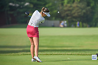 Sandra Gal (DEU) watches her tee shot on 5 during round 4 of the 2018 KPMG Women's PGA Championship, Kemper Lakes Golf Club, at Kildeer, Illinois, USA. 7/1/2018.<br /> Picture: Golffile | Ken Murray<br /> <br /> All photo usage must carry mandatory copyright credit (&copy; Golffile | Ken Murray)