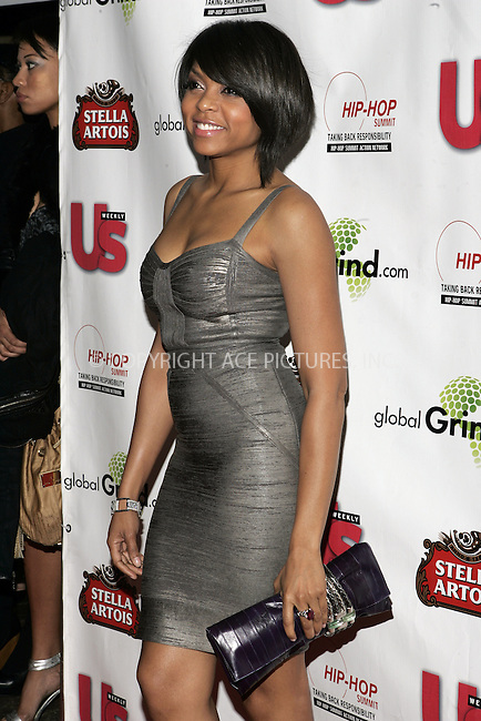 WWW.ACEPIXS.COM . . . . . ....February 8 2009, LA....Actress Taraji Henson arriving at the GlobalGrind.com Grammy launch party hosted by Russell Simmons and US Weekly on February 8, 2009 in Beverly Hills, California.....Please byline: JOE WEST- ACEPIXS.COM.. . . . . . ..Ace Pictures, Inc:  ..(646) 769 0430..e-mail: info@acepixs.com..web: http://www.acepixs.com