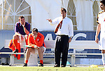 10 November 2010: Clemson head coach Mike Noonan. The University of Maryland Terrapins defeated the Clemson University Tigers 2-1 at Koka Booth Stadium at WakeMed Soccer Park in Cary, North Carolina in an ACC Men's Soccer Tournament Quarterfinal game.
