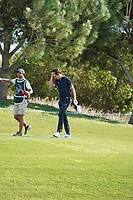 Pedro Figueiredo (POR) during Wednesday Pro-Am of the Portugal Masters, Dom Pedro Victoria Golf Course, Vilamoura, Vilamoura, Portugal. 23/10/2019<br /> Picture Andy Crook / Golffile.ie<br /> <br /> All photo usage must carry mandatory copyright credit (© Golffile | Andy Crook)