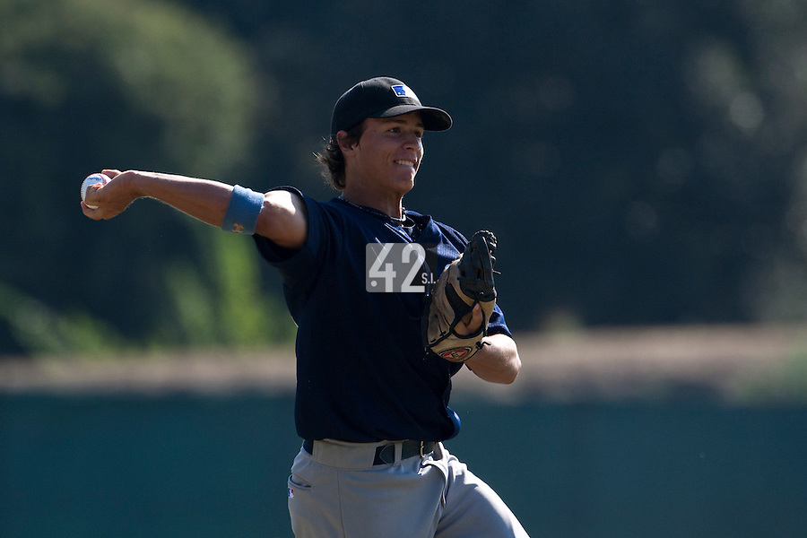 Baseball - MLB Academy - Tirrenia (Italy) - 19/08/2009 - Petr Sila (Czech Republic)