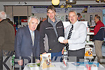 Pictured at the Ei Electronics Stand in Kellihers Electrical on Thursday from left: Paddy Sugrue (Managing Director Kellihers Electrical), Frank Heidtke (Dingle) and Paul Kilbridge (Ei Electronics).