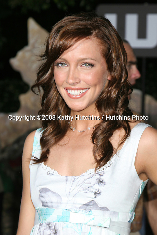 "Katie Cassidy arriving at the Wolrd Premiere of ""Wall-E"" at the Greek Theater in Los Angeles, CA on.June 21, 2008.©2008 Kathy Hutchins / Hutchins Photo ."