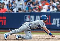 Cody Bellinger.<br /> Acciones del partido de beisbol, Dodgers de Los Angeles contra Padres de San Diego, tercer juego de la Serie en Mexico de las Ligas Mayores del Beisbol, realizado en el estadio de los Sultanes de Monterrey, Mexico el domingo 6 de Mayo 2018.<br /> (Photo: Luis Gutierrez)
