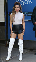 NEW YORK, NY- November 26: Ally Brooke seen exiting Good Morning America in New York City on November 26, 2019. <br /> CAP/MPI/RW<br /> ©RW/MPI/Capital Pictures