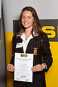All Rounder Award winner Cosette Saville from Pukekohe High School. ASB College Sport Young Sportsperson of the Year Awards held at Eden Park, Auckland, on November 11th 2010.
