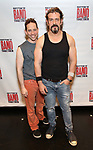 Garth Kravits and Brandon Williams attends the Meet and Greet for Broadway's 'Gettin' the Band Back Together' on May 4, 2018 at Manhattan Movement & Arts Center in New York City.