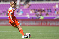 Orlando, FL - Saturday June 24, 2017: Morgan Brian during a regular season National Women's Soccer League (NWSL) match between the Orlando Pride and the Houston Dash at Orlando City Stadium.