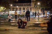 Indecipherable Ritual... in Parliament Square.<br /> <br /> London &amp; Londoners 2014<br /> <br /> For more pictures of London &amp; Londoners Part 9 click here: &lt;a href= &quot; http://bit.ly/1BA8Qqm&quot;&gt; http://bit.ly/1BA8Qqm&lt;/a&gt;