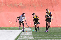 San Diego CA, USA.  15, Oct 2014:  Mission Bay High School Womens Field Hockey take on Point Loma High Womens Field Hockey, JV.