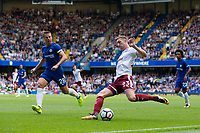 Burnley's Stephen Ward in action<br /> <br /> Photographer Craig Mercer/CameraSport<br /> <br /> The Premier League - Chelsea v Burnley - Saturday August 12th 2017 - Stamford Bridge - London<br /> <br /> World Copyright &copy; 2017 CameraSport. All rights reserved. 43 Linden Ave. Countesthorpe. Leicester. England. LE8 5PG - Tel: +44 (0) 116 277 4147 - admin@camerasport.com - www.camerasport.com