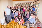 John Murphy seated front first on the left from Caharn Lower celebrated his 70th birthday with family and friends.