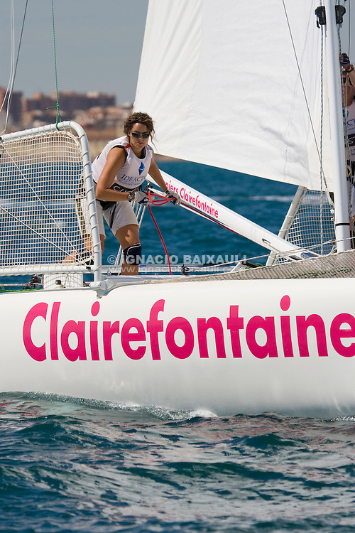 Claire Leroy (Fra.) .9th Trophée Clairefontaine, Saturday 13 and Sunday 14 September 2008, Marina Juan Carlos I, Valencia,Spain